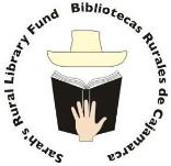 Thank You for donating to Sarah's Rural Library Fund